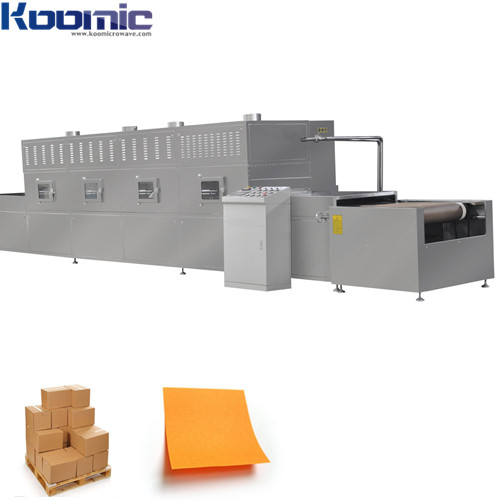 Tunnel type Paper Cardboard Microwave Drying Machine