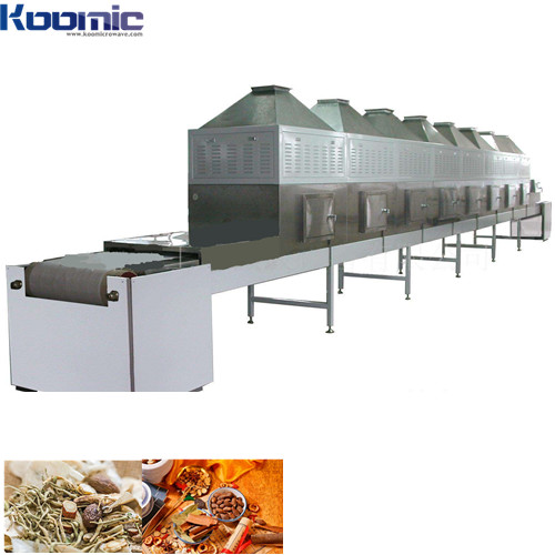 Chemical Products Microwave Vacuum Drying and Sterilizing Machine
