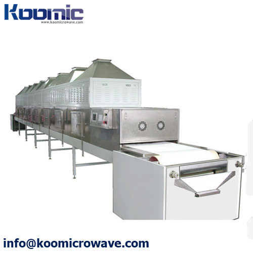 Continuously Type Sea Food Microwave Thawing System