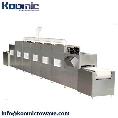 Belt Type Quick-frozen Food Microwave Thawing Production Line