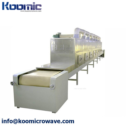 Tunnel Type Insulation board Microwave Drying System