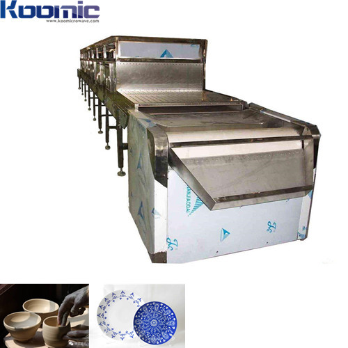 3-100kW  Continuous Belt Microwave Ceramic Product  Dryer