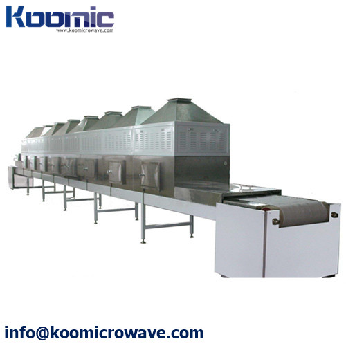 High Efficiency Microwave Grain Cereals Drying Machine
