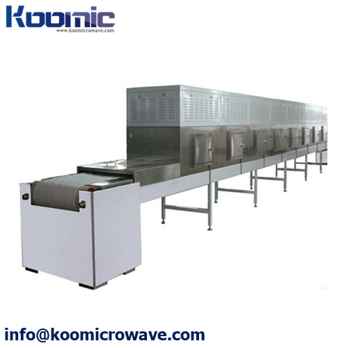 High Efficiency Cardboard Microwave Roasting and Curing Machine