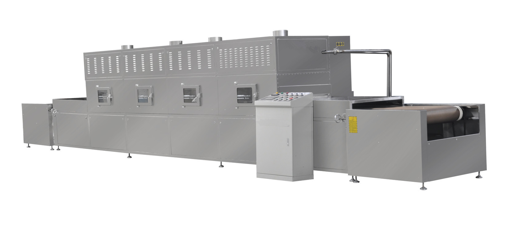 Automatic 50KW Paper Microwave Drying Equipment